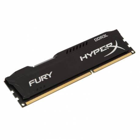 Kingston MEMORIA RAM 8GB 1866MHZ DDR3L CL 11 DIMM 1.35V HYPERX FURY NEGRO