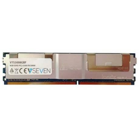 V7 MEMORIA RAM 8GB DDR2 667MHZ CL5 SERVIDOR FB DIMM PC2-5300