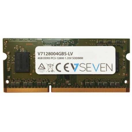 V7 MEMORIA RAM 4GB DDR3 1600MHZ CL11 SO DIMM PC3-12800