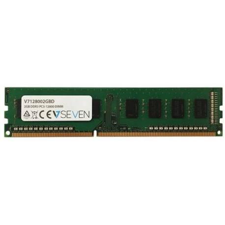 V7 MEMORIA RAM 2GB DDR3 1600MHZ CL11 DIMM PC3-12800