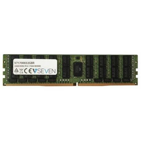 V7 MEMORIA RAM 32GB DDR4 2133MHZ CL15 SERVIDOR REG PC4-17000