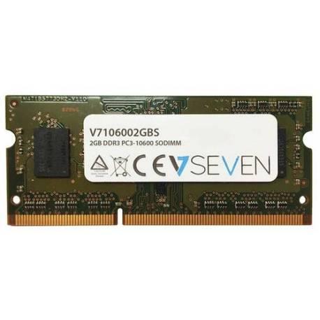 V7 MEMORIA RAM 2GB DDR3 1333MHZ CL9 SO DIMM PC3-10600