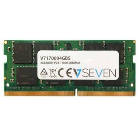 V7 MEMORIA RAM 4GB DDR4 2133MHZ CL15 SO DIMM PC4-17000