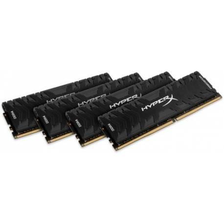 Kingston MEMORIA RAM 32GB DDR4-2666MHZ CL13 DIMM (KIT DE 4) XMP HYPERX PREDATOR