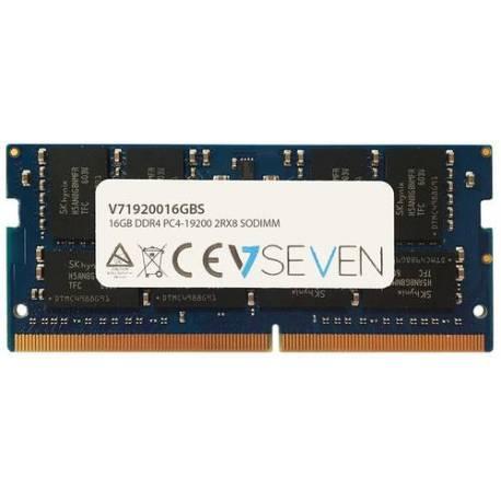V7 MEMORIA RAM 16GB DDR4 2400MHZ CL17 SO DIMM PC4-19200 1.2V