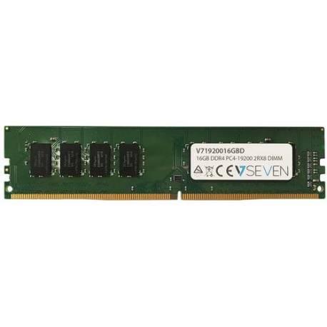 V7 MEMORIA RAM 16GB DDR4 2400MHZ CL17 DIMM PC4-19200 1.2V