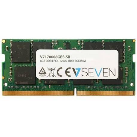 V7 MEMORIA RAM 8GB DDR4 2133MHZ CL15 SO DIMM PC4-17000 1.2V