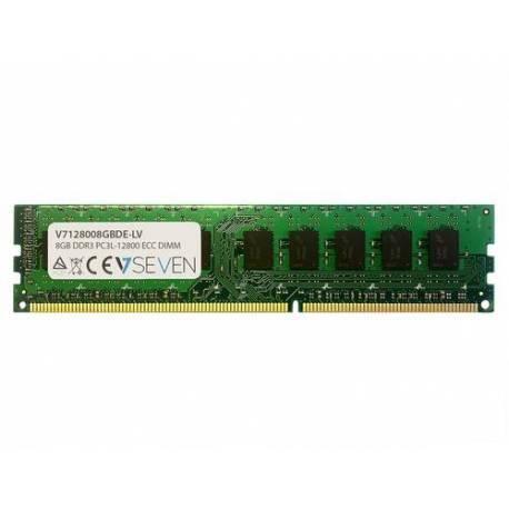 V7 MEMORIA RAM 8GB DDR3 1600MHZ CL11 ECC DIMM PC3L-12800 1.35V