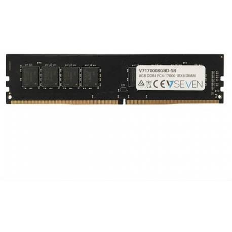 V7 MEMORIA RAM 8GB DDR4 2133MHZ CL15 DIMM PC4-17000 1.2V