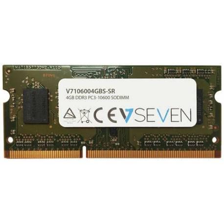 V7 MEMORIA RAM 4GB DDR3 1333MHZ CL9 SO DIMM PC3-10600 1.5V