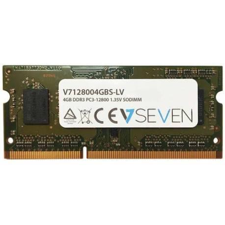 V7 MEMORIA RAM 4GB DDR3 1600MHZ CL11 NO ECC SO DIMM PC3L-12800 1.35V