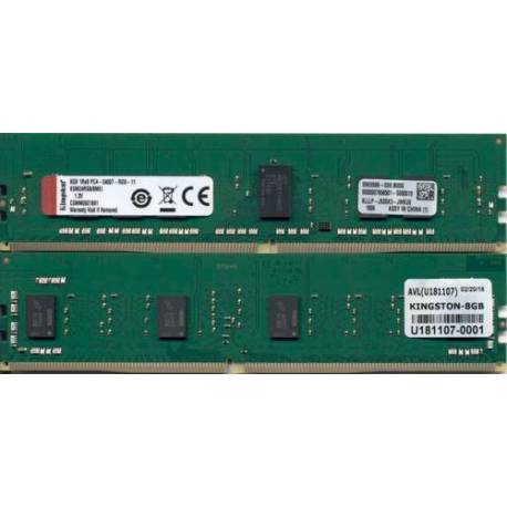 Kingston MEMORIA RAM 8GB DDR4-2400MHZ ECC REG CL17 DIMM 1RX8 MICRON E IDT