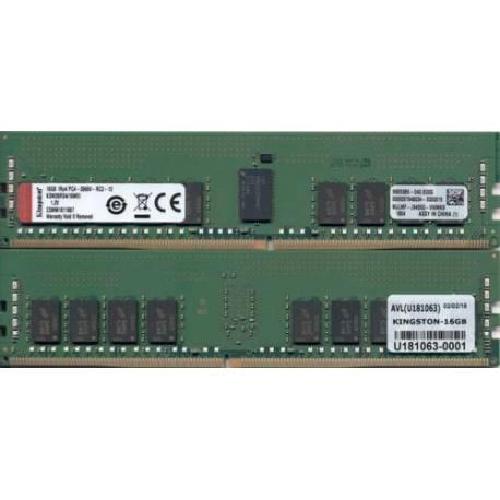 Kingston MEMORIA RAM 16GB DDR4-2666MHZ ECC REG CL19 DIMM 1RX4 MICRON E IDT