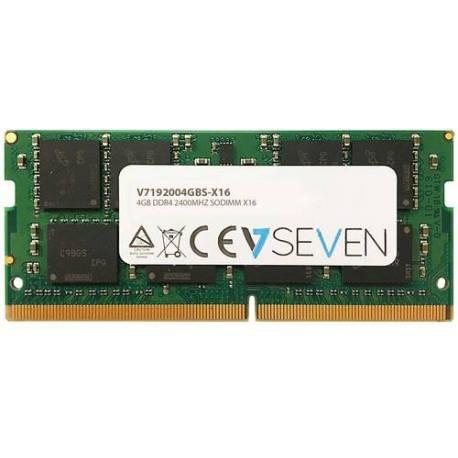 V7 MEMORIA RAM 4GB DDR4 2400MHZ CL17 NO ECC SODIMM PC4-19200 1.2V 260PIN