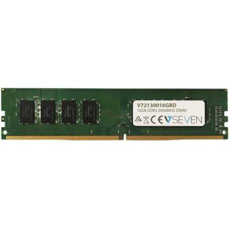 V7 MEMORIA RAM 16GB DDR4 2666MHZ CL19 NO ECC DIMM PC4-21300 1.2V 288PIN