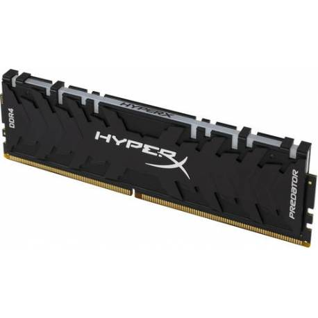 Kingston MEMORIA RAM 64GB 3200MHZ DDR4 CL16 DIMM KIT DE 4 XMP HYPERX PREDATOR RGB