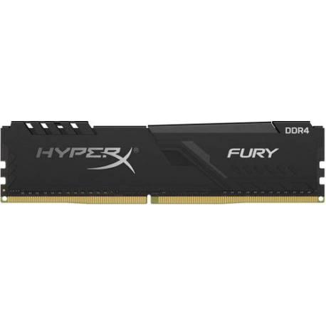 Kingston MEMORIA RAM 4GB DDR4 2666MHZ CL16 DIMM HYPERX FURY NEGRO