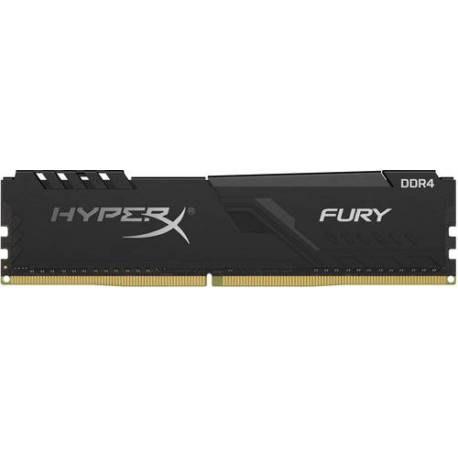 Kingston MEMORIA RAM 8GB DDR4 2666MHZ CL16 DIMM 1RX8 HYPERX FURY NEGRO