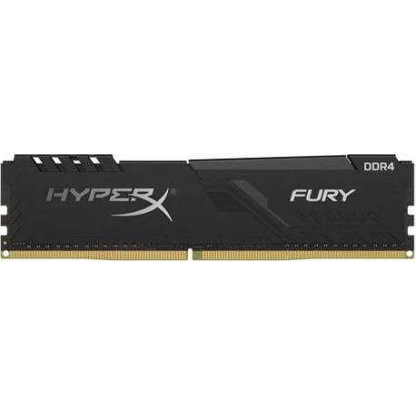 Kingston MEMORIA RAM 8GB DDR4 3600MHZ CL17 DIMM 1RX8 HYPERX FURY NEGRO