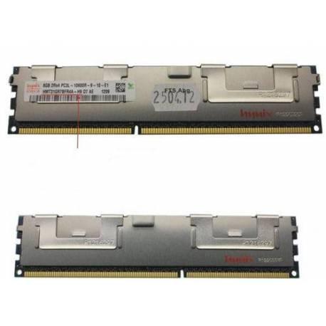 Fujitsu MEMORIA RAM 8GB DDR3 1333MHZ PC3-10600 RG D S26361-F3604-L515