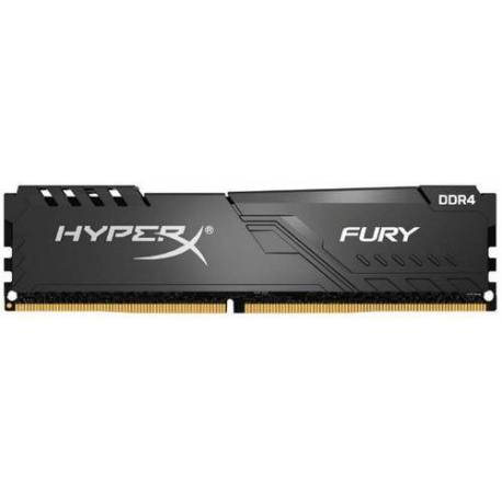 Kingston MEMORIA RAM 128GB 3600MHZ DDR4 CL18 DIMM KIT DE 4 HYPERX FURY NEGRO