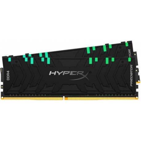 Kingston MEMORIA RAM 32GB DDR4-3600MHZ CL17 DIMM KIT DE 2 XMP HYPERX PREDATOR RGB