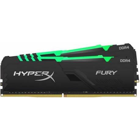Kingston MEMORIA RAM 64GB DDR4-3600MHZ CL18 DIMM KIT DE 2 HYPERX FURY RGB