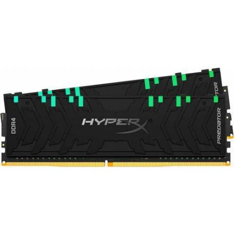 Kingston MEMORIA RAM 16GB DDR4-4000MHZ CL19 DIMM KIT DE 2 XMP HYPERX PREDATOR RGB