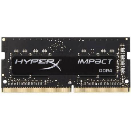 Kingston MEMORIA RAM 16GB DDR4 2400MHZ CL15 SODIMM HYPERX IMPACT