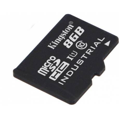 Kingston 8GB MICROSDHC UHS-I CLASE 10 INDUSTRIAL TEMP CARD SINGLE PACK
