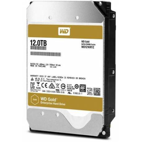 "Western Digital DISCO DURO 12TB GOLD 256MB 3.5"" SATA 6GB/S 7200RPM"