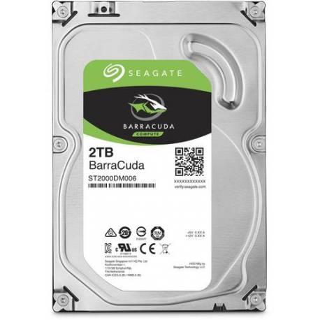 "Seagate DISCO DURO BARRACUDA 2TB DESKTOP 3.5"" 6GB/S SATA 256MB"