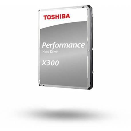 "Toshiba DISCO DURO X300 PERFORMANCE 12TB 3.5"" SATA N300 256MB 7200RPM"
