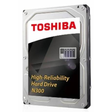 "Toshiba DISCO DURO N300 NAS 6TB SATA 128MB 3.5"" S300 7200RPM"