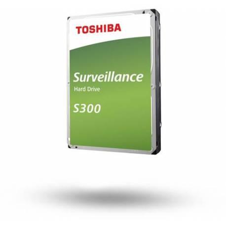 "Toshiba DISCO DURO S300 SURVEILLANCE 6TB 3.5"" 256MB SATA P300 64MB 7200RPM"