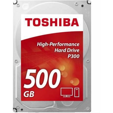 "Toshiba DISCO DURO P300 ALTO RENDIMIENTO 500GB 2.5"" SATA L200 128MB 5400RPM"