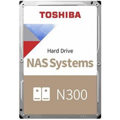 "Toshiba DISCO DURO N300 SATA NAS 8TB 3.5"" 256MB 7200RPM"