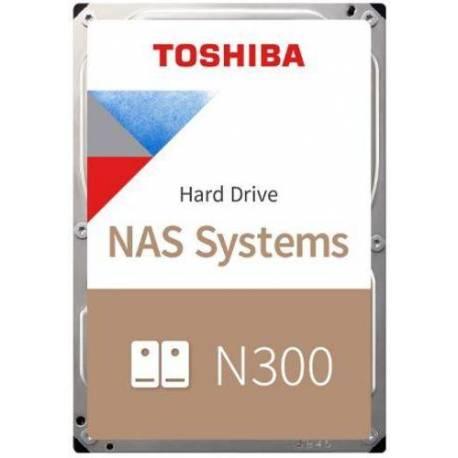 "Toshiba DISCO DURO N300 NAS 8TB 3.5"" X300 256MB 7200RPM SATA"