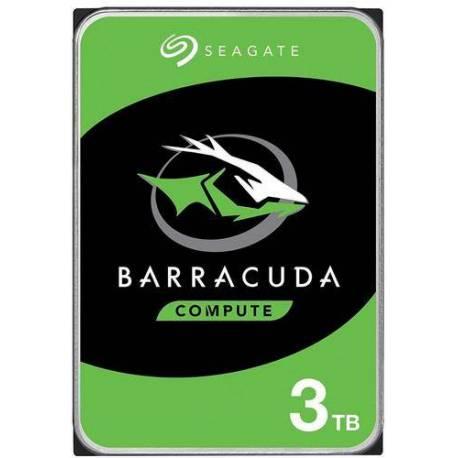 "Seagate DISCO DURO BARRACUDA 3TB SATA 3.5"" 6GB/S 256MB"