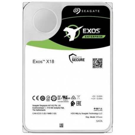 "Seagate DISCO DURO EXOS X18 16TB SATA 3.5"" 7200RPM HELIUM 512E/4KN"