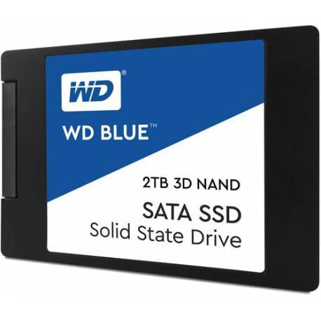 "Western Digital DISCO DURO BLUE SSD 2TB 2.5"" 7MM 3D NAND SATA"