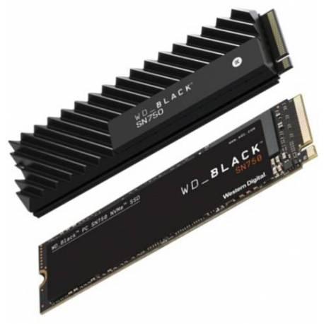 Western Digital DISCO DURO 250GB NEGRO NVME SSD M.2 PCIE GEN3 SN750