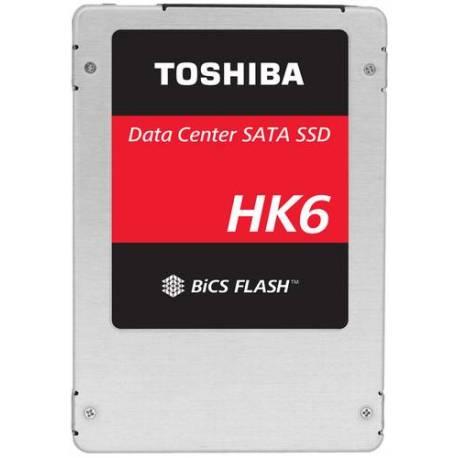 """Toshiba DISCO DURO HK6R DSSD 3840GB SATA 6GBIT/S 2.5"""" 7MM TLC BICS FLASH"""