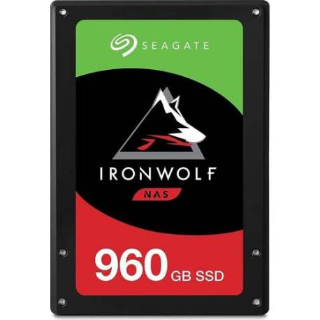 "Seagate DISCO DURO IRONWOLF 110 SSD 960GB 2.5"" SATA 6GB/S 7MM 3D TLC"