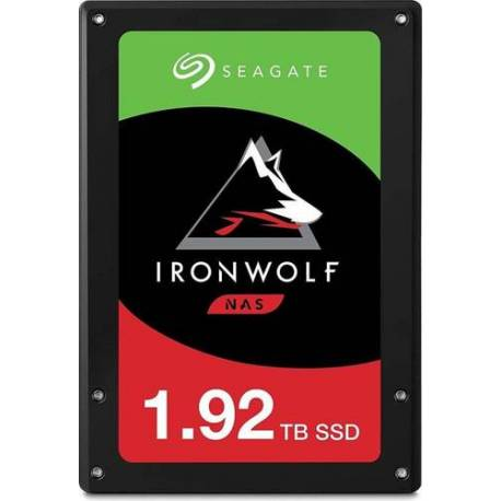 "Seagate DISCO DURO IRONWOLF 110 SSD 1.92TB 2.5"" SATA 6GB/S 7MM 3D TLC"