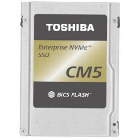 """Toshiba DISCO DURO CM5-V ENTERPRISE SSD 6400GB PCIE 3X4 2.5"""" 15MM TLC BICS FLASH"""