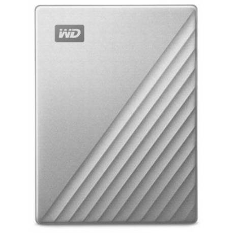 "Western Digital DISCO EXTERNO MY PASSPORT ULTRA 4TB PLATA 2.5"" USB 3.0"