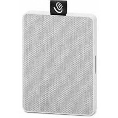 "Seagate DISCO DURO ONE TÁCTIL SSD 500GB BLANCO 2.5"" USB 3.0"