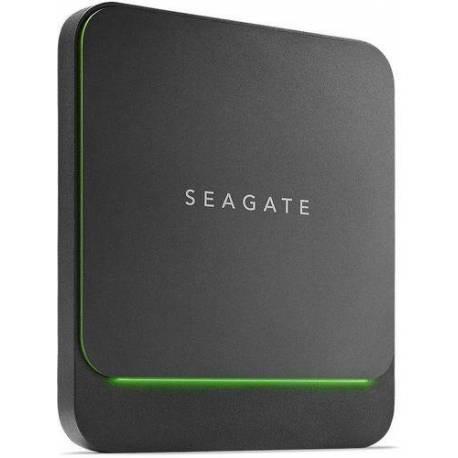 Seagate DISCO EXTERNO BARRACUDA FAST SSD 1TB USB 3.1 TIPO C NEGRO