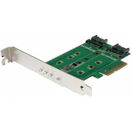 StarTech 3 PUERTOS M.2 NGFF SSD CARD ADAPTADOR PCI EXPRESS 3.0 M.2 NGFF CARD
